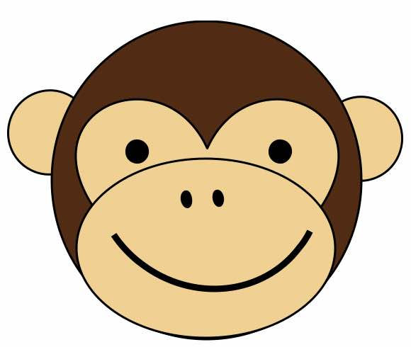 Make your own monkey craft for Chinese New Year, year of the monkey or ...