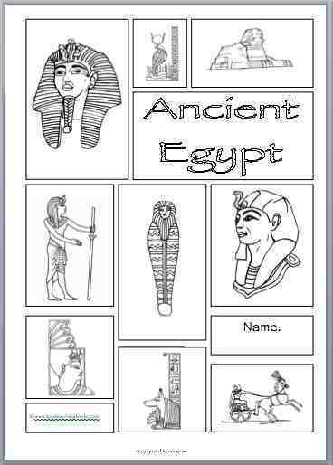 photograph relating to Ancient Egypt Printable Worksheets known as Egyptians - Supreme Training Resources